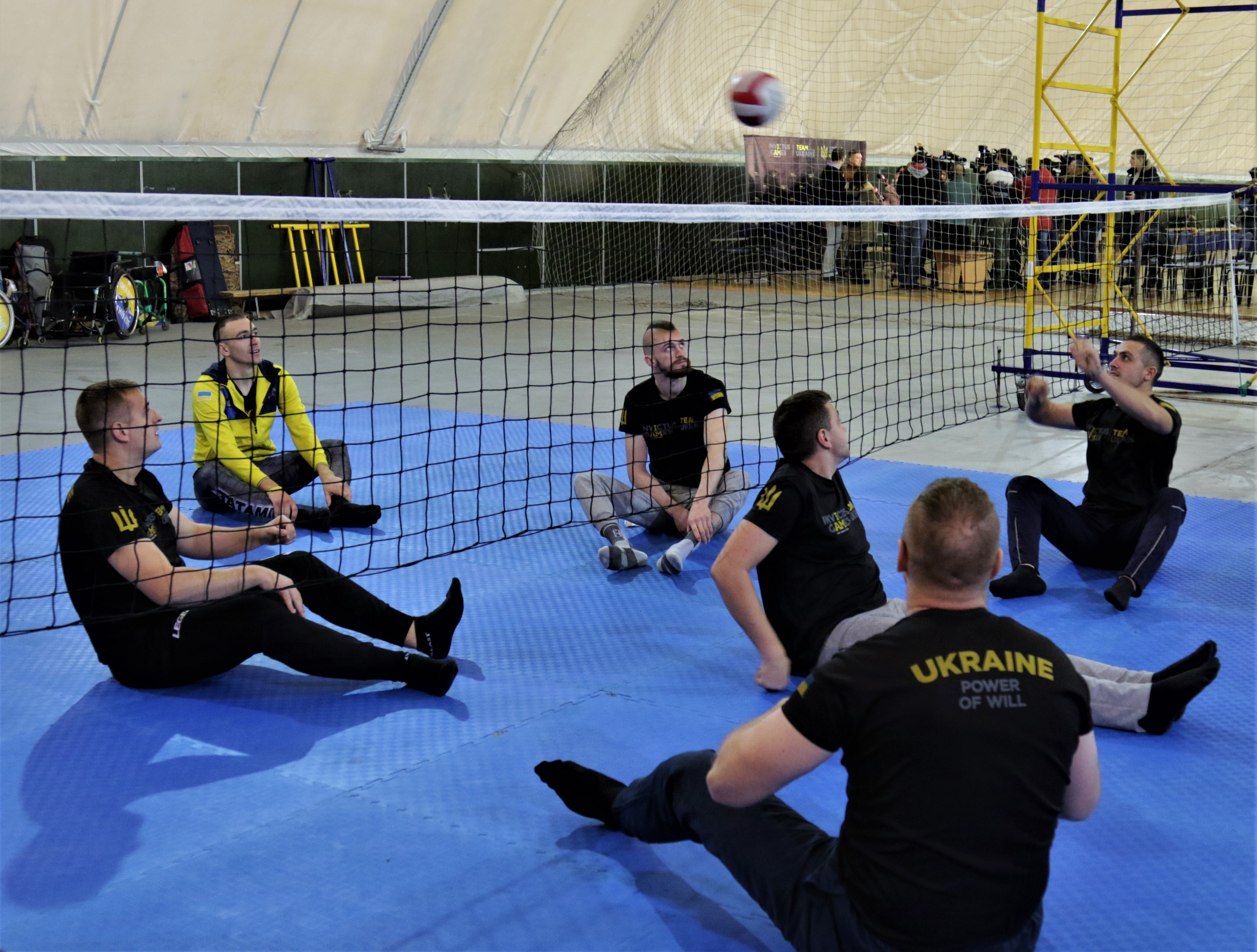 Invictus Unite - US AF Wounded Warrior program jointly with Invictus Games Team Ukraine held a seminar on adaptive sports for Ukrainian WIS community