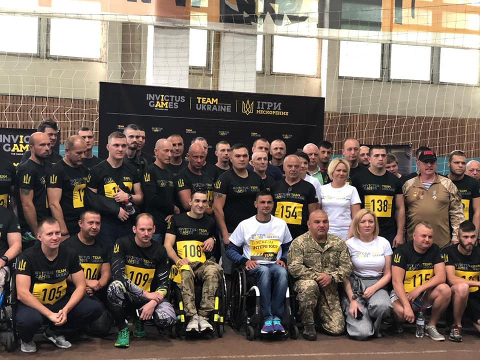 Online Tribune by Invictus Games Ukraine offers an opportunity to cheer up the competitors even if you can't make it to the stadium