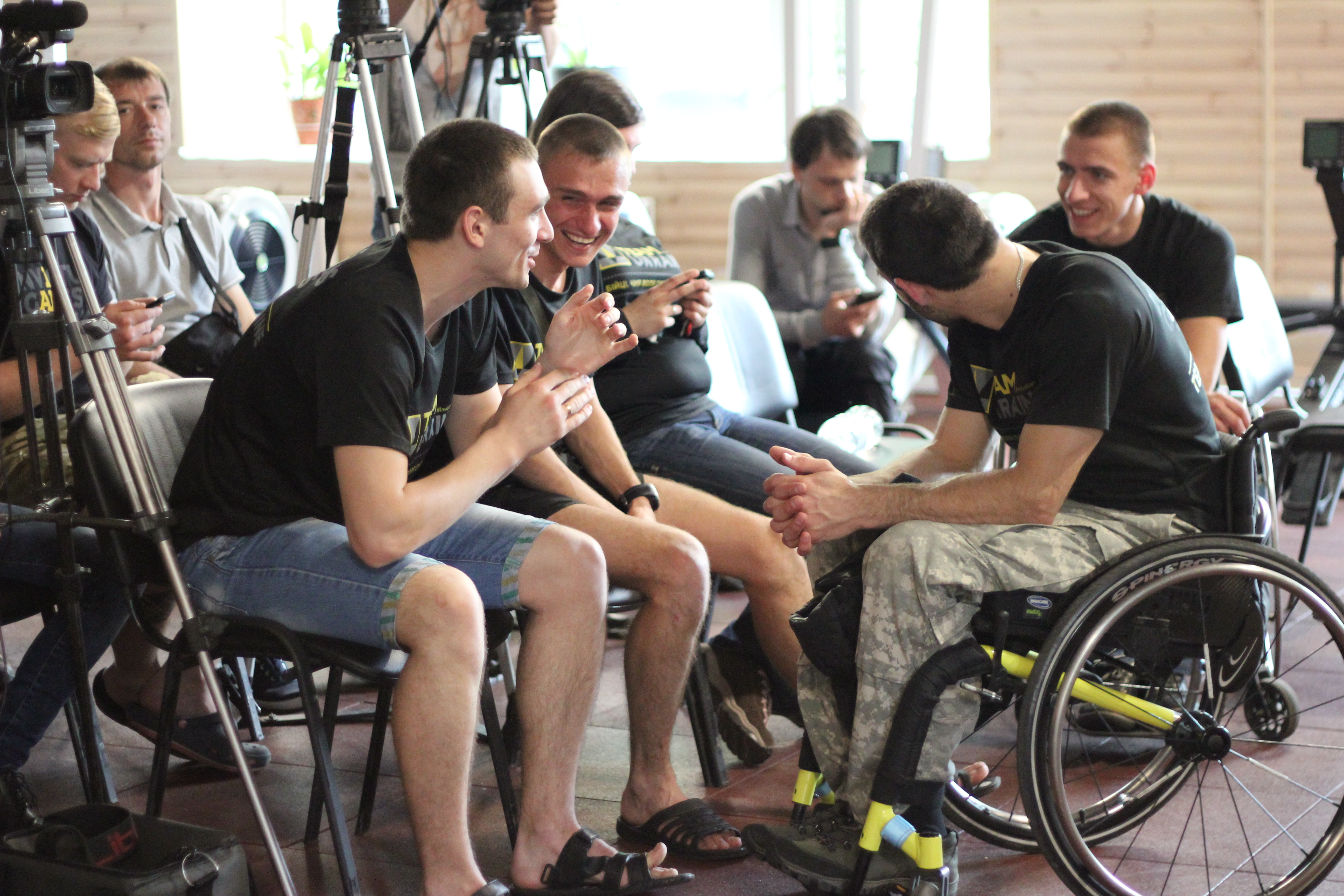 FIRST INVICTUS GAMES TRAINING CAMP KICKS-OFF IN KYIV
