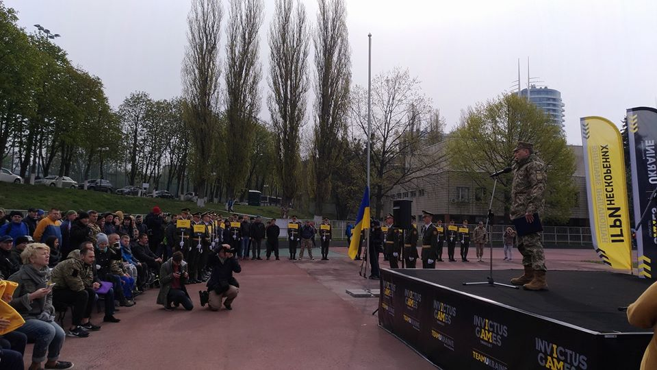NATIONAL INVICTUS GAMES KICK OFF IN KYIV