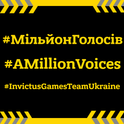 Join #AMillionVoices in support of our Invictus Warriors!