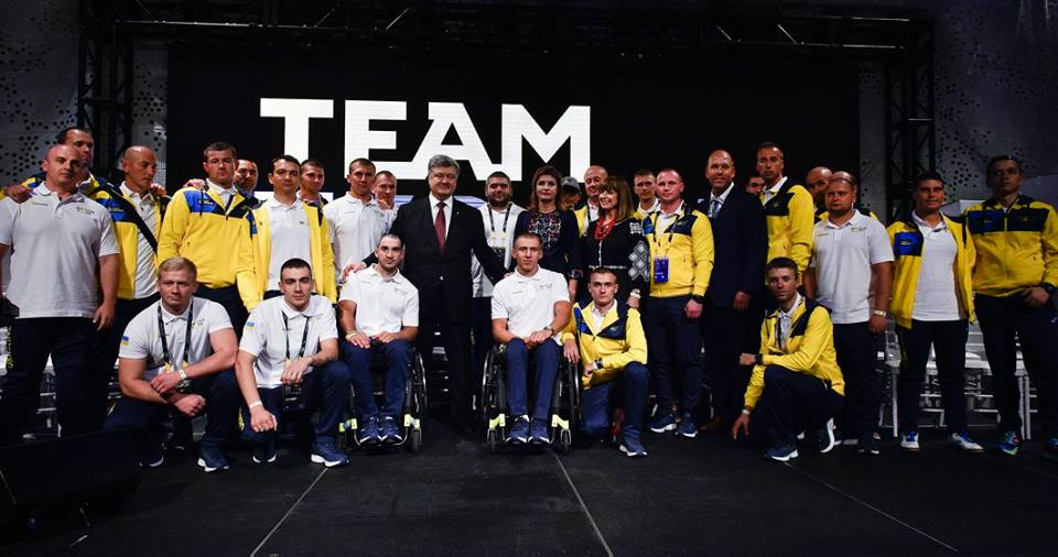 CANADIAN PRIME MINISTER, PRINCE HARRY AND PRESIDENT POROSHENKO WELCOME TEAM UKRAINE TO THE INVICTUS GAMES