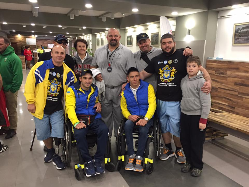 First gold for Team Ukraine after returning from Canada